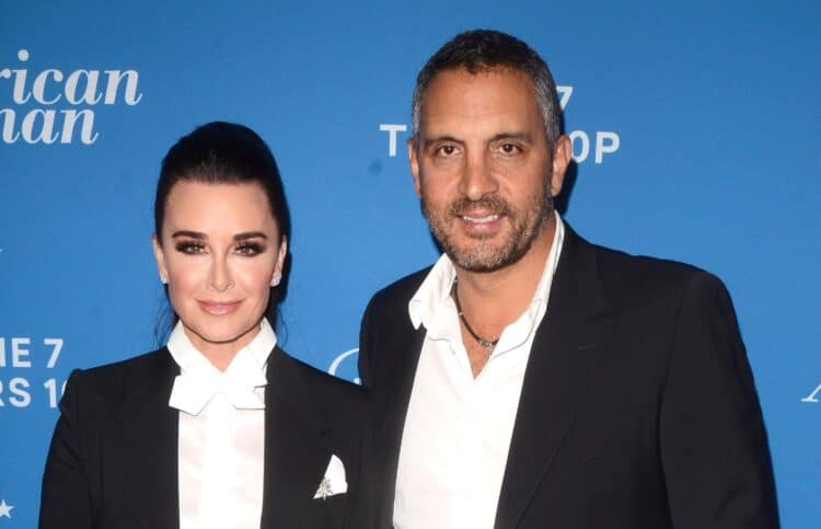 """LOS ANGELES - MAY 31:  Kyle Richards, Mauricio Umansky at the """"American Woman"""" Premiere Party at the Chateau Marmont on May 31, 2018 in West Hollywood, CA"""